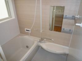 福岡県春日市水まわりバスルームのリフォーム施工例。バスルームのafter写真。