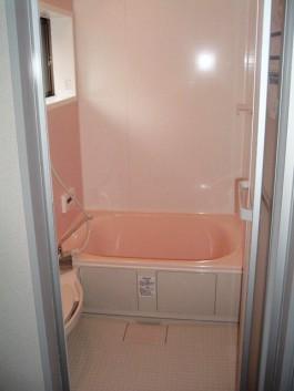 福岡県春日市の水まわり(バスルーム)リフォーム施工後。バスルームのアフター写真。
