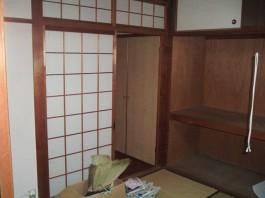 福岡県春日市の内装(リビング)リフォーム施工前。内装(リビング)ビフォアーのアフター写真。