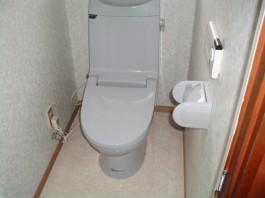 福岡県春日市の水まわり(トイレ)リフォーム施工前。トイレリフォームのアフター写真。