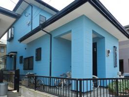 福岡県福岡市早良区S様邸外壁塗装・屋根塗装リフォームの施工例。