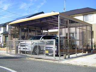 福岡県小郡市 カーポート工事