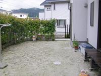 福岡県大野城市 ガーデン工事