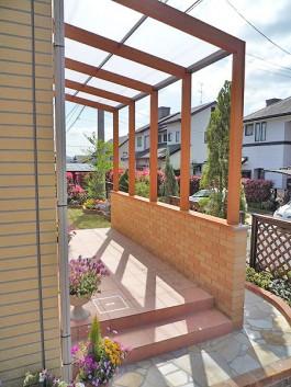 福岡県のガーデンルーム・サンルーム工事。庭やガーデンのリフォーム施工例です。