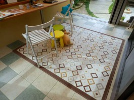 福岡県筑紫野市のガーデンルーム・サンルーム工事。ガーデンルーム付お庭のリフォーム