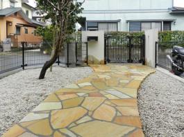 福岡県筑紫野市の外構リフォーム工事。住まい・住宅の外回りのリフォームです。