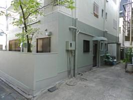 福岡県福岡市中央区の外壁塗装塗り替えリフォーム工事。光触媒ヒカリショクバイ工事。