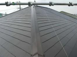 福岡県朝倉市の屋根塗装工事。色が剥げて・色が褪せてきた屋根を塗替えリフォーム。