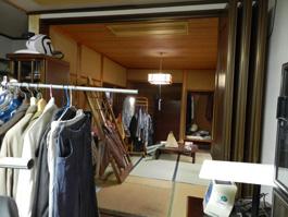 扉の奥は畳張りの和室が広がっていました。
