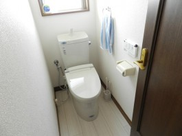トイレの床_after