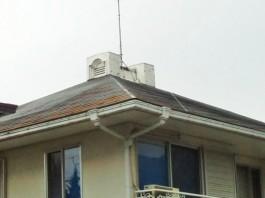 糟屋郡、M様邸の屋根・外壁塗装工事